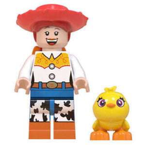 Jessie & Ducky • Lego Block Character