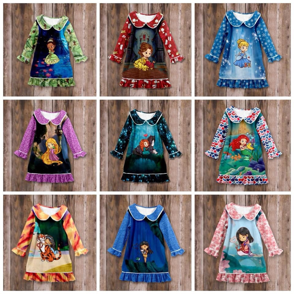 Princess & Their Pets Nightgowns • PREORDER CLOSES THURSDAY, SEPT. 12