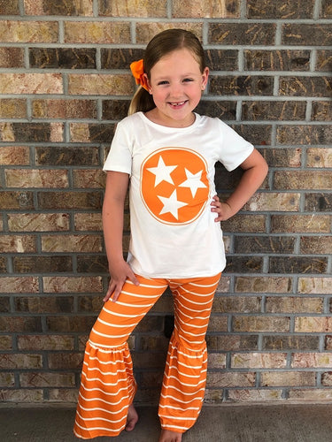 2T, 4T, 10/12 • Tri-Star Tennessee Pants Set 💜 Big Sister