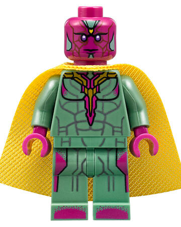 Avengers Vision • Lego Block Character