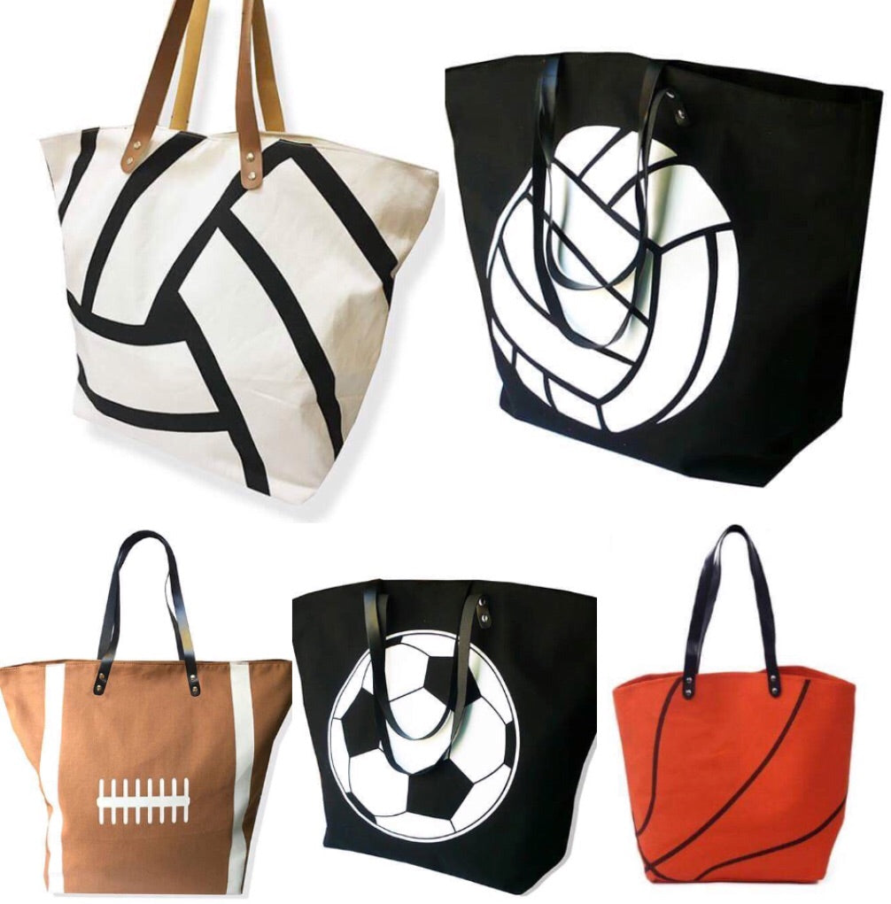 Large Sports Canvas Bags • PREORDER