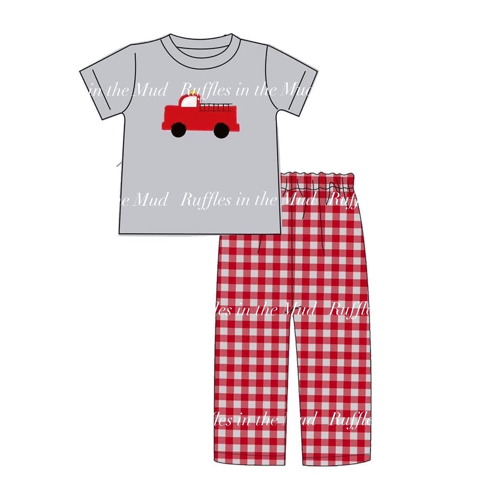 Firefighter Upscale Pants Set • PREORDER CLOSES FRIDAY, NOV. 29