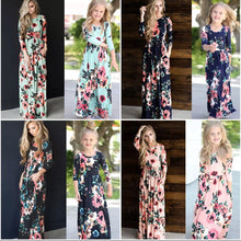 Floral 3/4 Sleeve Mommy & Me Dresses • PREORDER