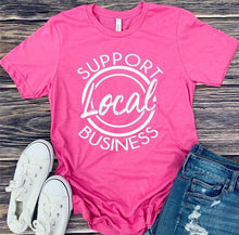 S-3x • Support Local Business Tee