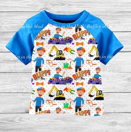 Blippi Raglan • PREORDER CLOSES SUNDAY, JULY 14
