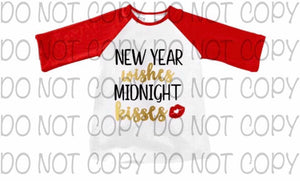 New Year Wishes Straight Sleeve Raglan • PREORDER CLOSES SUNDAY, OCT. 21