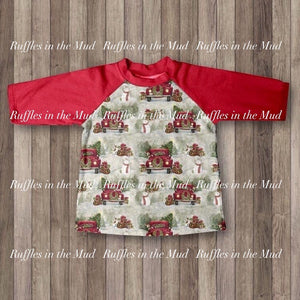 0/3m-7/8 • A Country Christmas Long Sleeve Raglan