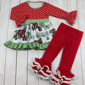 Vintage Truck Christmas Pants Set • PREORDER CLOSES SATURDAY, SEPT. 15