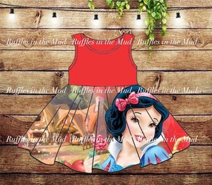 6/12m-14/16 • Snow White • Favorite Disney Character Dresses