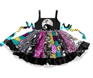Nightmare Before Christmas Patchwork Dress • PREORDER CLOSES MONDAY, MAY 27