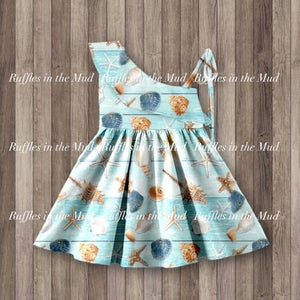5/6, 7/8 • Seashells by the Seashore Dress
