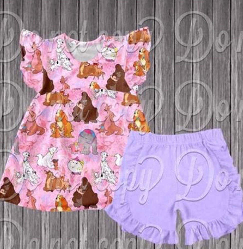 Disney Mother's Day Mash Up Shorts Set • PREORDER CLOSES FRIDAY, FEB. 1 @ 5pm!!