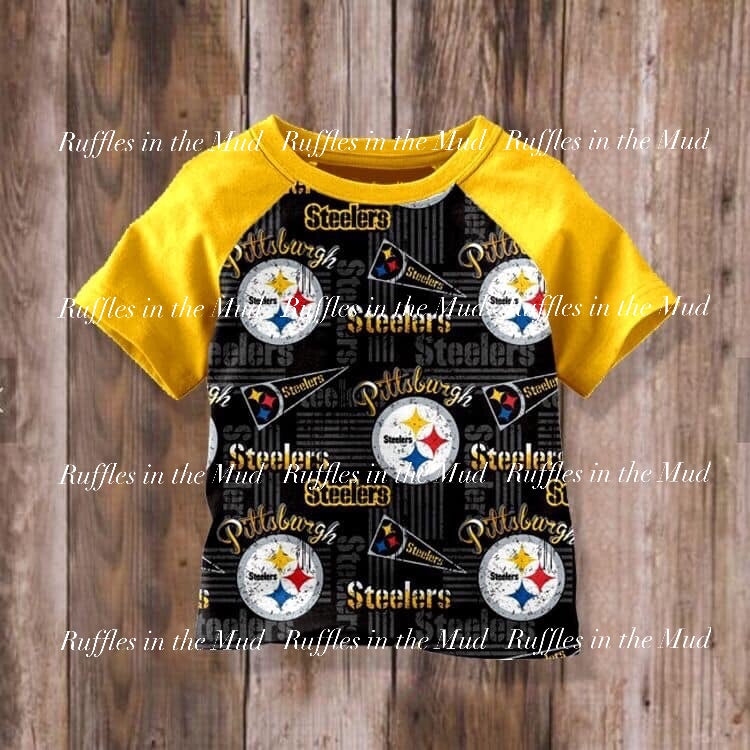 Pittsburgh Steelers Raglan • PREORDER CLOSES WEDNESDAY, MAY 8