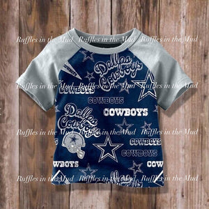 Dallas Cowboys Raglan • PREORDER CLOSES THURSDAY, MAY 2