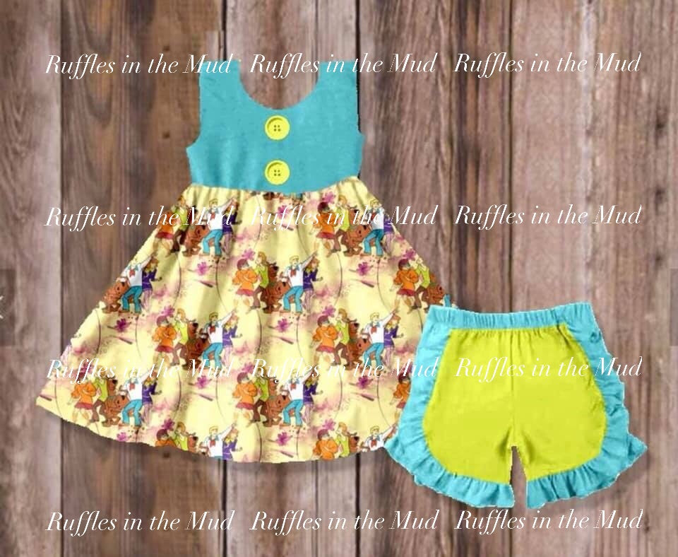 Scooby Doo Shorts Set • PREORDER CLOSES TUESDAY, APRIL 23