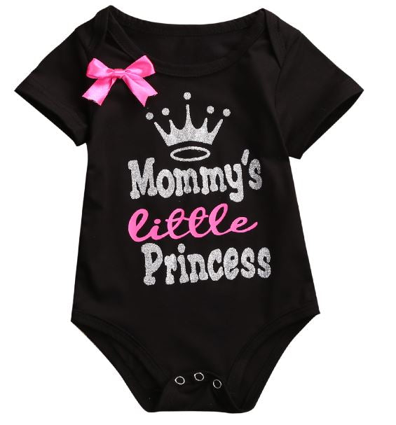 Mommy's Princess Bow Onesie • PREORDER