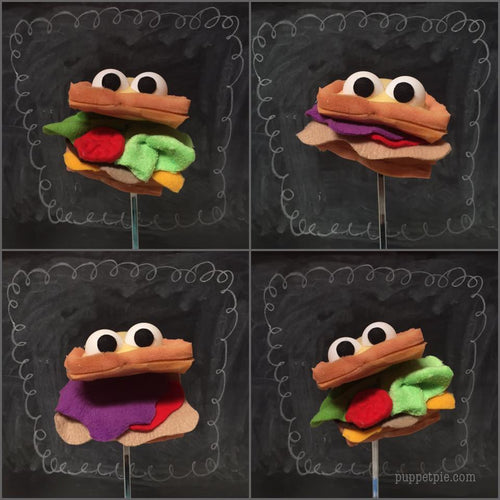 Sandwich Puppet Workshop Saturday, November 17, 2018  2:00-5:00pm