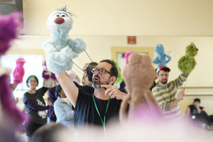 Rod Puppet Mouth Mechanism Workshop with guest artist, Greg Ballora, Saturday, April 27, 2019 11am-4pm