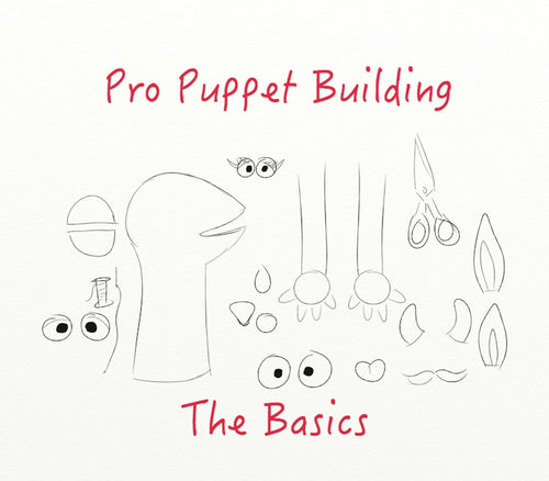 Pro Puppet Building Workshop: The Basics. 6 days, January-February 2019