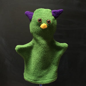 Green Monster Glove Puppet by Puppet Pie