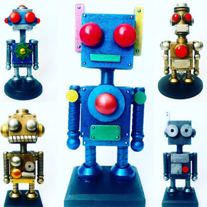 Mini Robot Workshop with Jordan-Alexander Thomas, July 13, 2019  11am-1pm