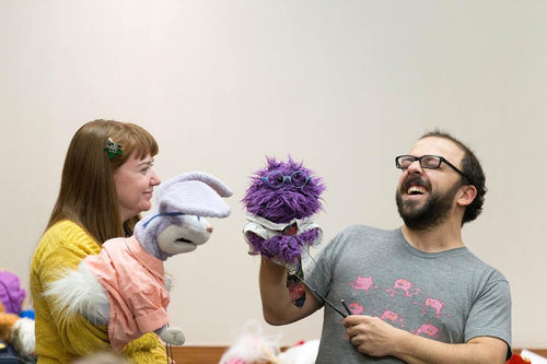 First Friday Puppet Jam  Friday, February 7, 6:30pm-10pm