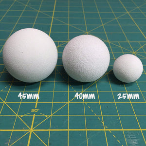 40mm EVA foam eyeballs ($3.25-$22.50)