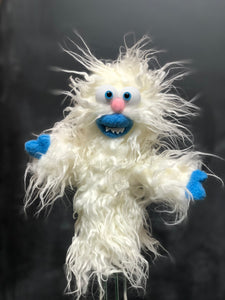 "Abominable Snowman Tree Topper ""Angel"""