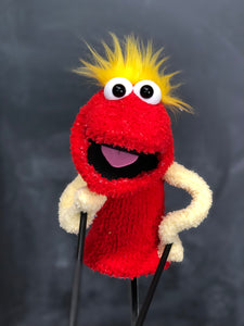 Red and Yellow Pre Pro Puppet