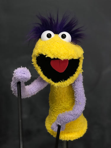 Yellow and Purple Pre Professional Puppet