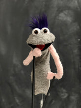 Gray sock puppet