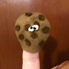 Chocolate Chip Cookie Finger Puppet