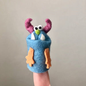 Happy Monster Finger Puppet