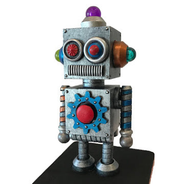 Mini Robot Workshop with Jordan-Alexander Thomas, September 14th 2019  11am-1pm