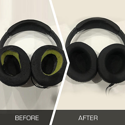 Why are my Bose headphone ear pads falling apart? – Wicked
