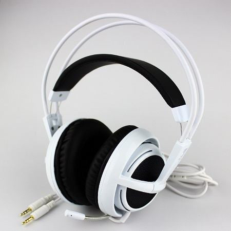 White Cheap Headphones