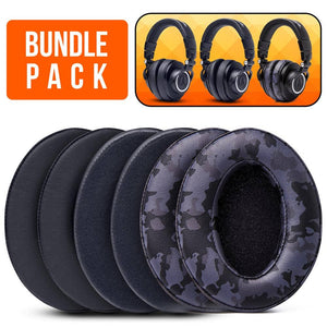 ATH M50X Earpads - Bundle Pack - Wicked Cushions