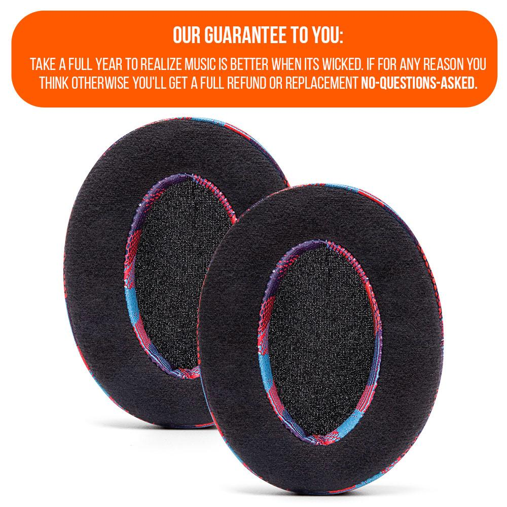 ATH M50X Earpads - Velour Hybrid | Speed Racer
