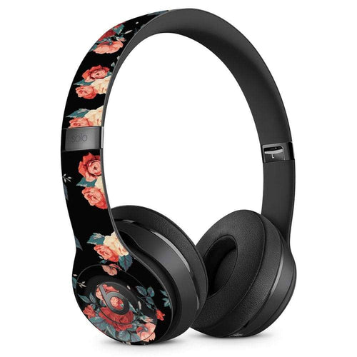 Beats Solo Skin - Black Floral - Wicked Cushions