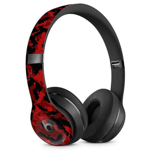 Beats Solo Skin - Red Camo - Wicked Cushions