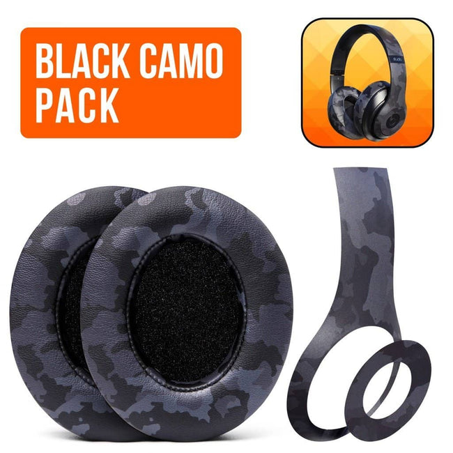 Beats Studio Black Camo - The Full Package |