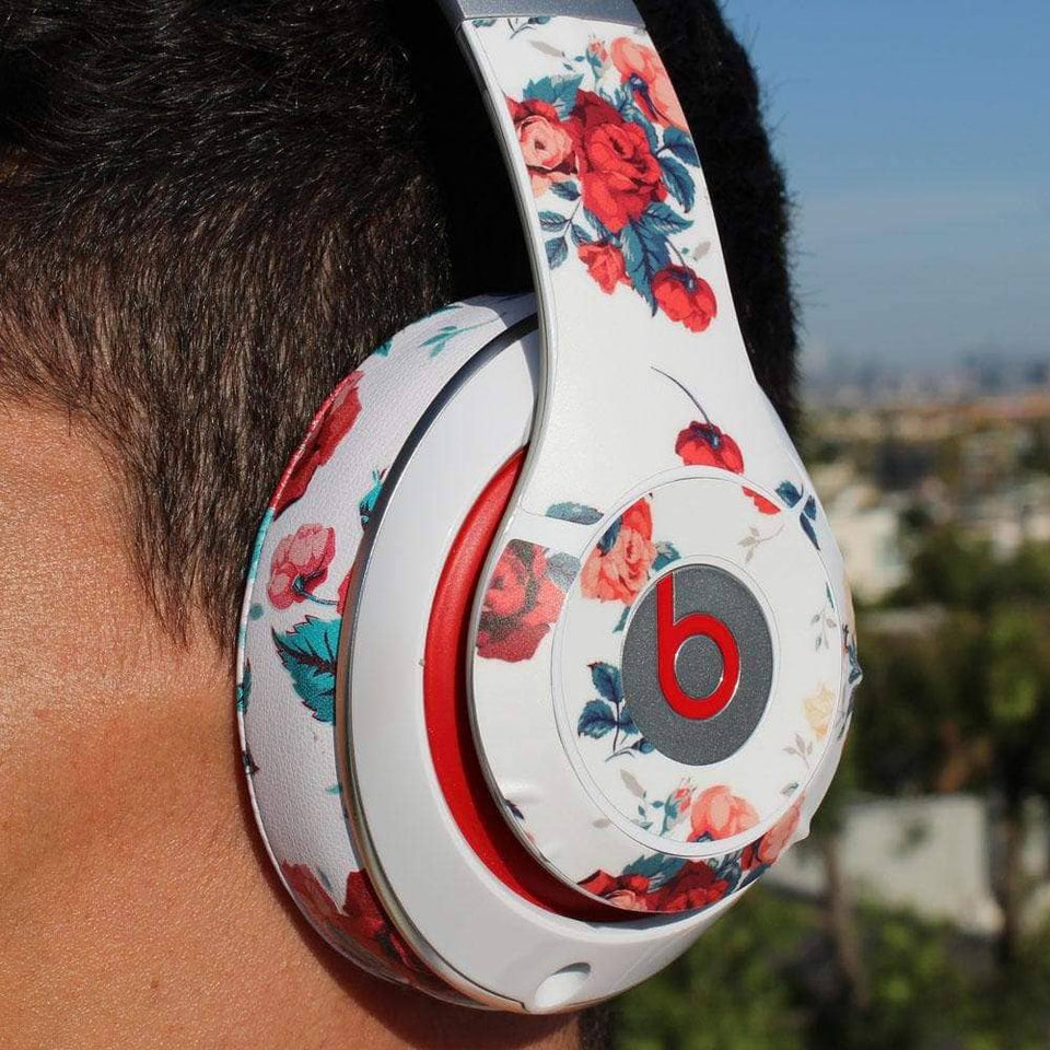 Beats Studio Skin - Floral White - Wicked Cushions