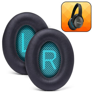 Replacement Ear Pads For Bose QC25 - Black - Wicked Cushions