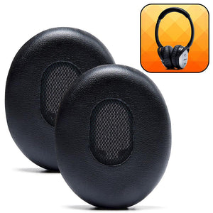 Replacement Ear Pads For Bose QC3 - Black - Wicked Cushions