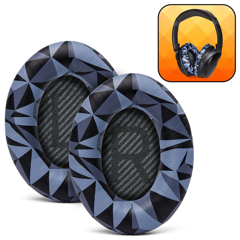 Replacement Ear Pads For Bose QC35 | Geo grey