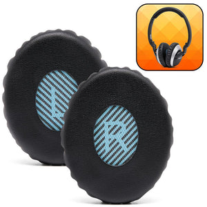 Replacement Ear Pads For Bose SoundLink & SoundTrue OE2 (On-EAR) - Black - Wicked Cushions