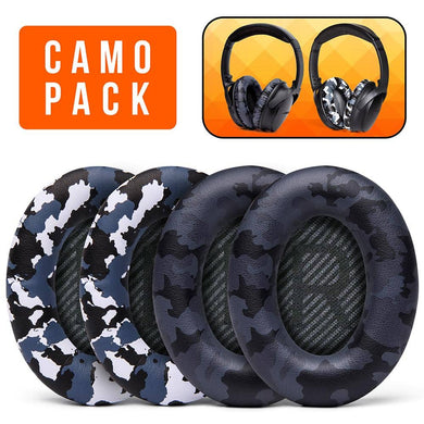 Replacement Earpads For Bose QC35 - Camo Pack - Wicked Cushions