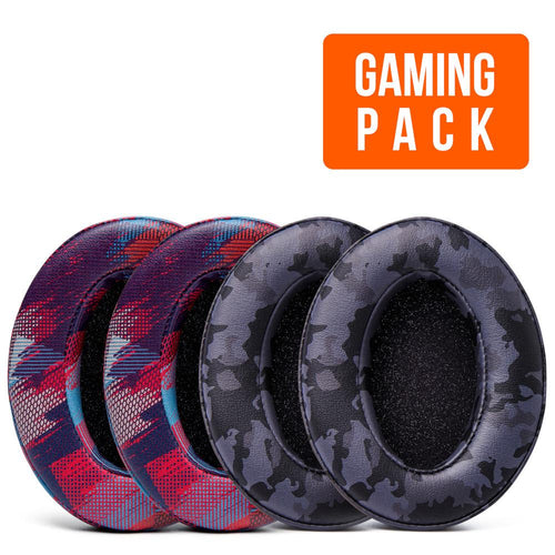 Upgraded Gaming Earpads - Design Pack (Speed Racer & Black Camo) |