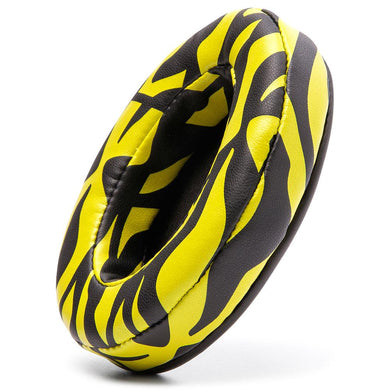 Upgraded Gaming Earpads - Yellow Tiger - Wicked Cushions