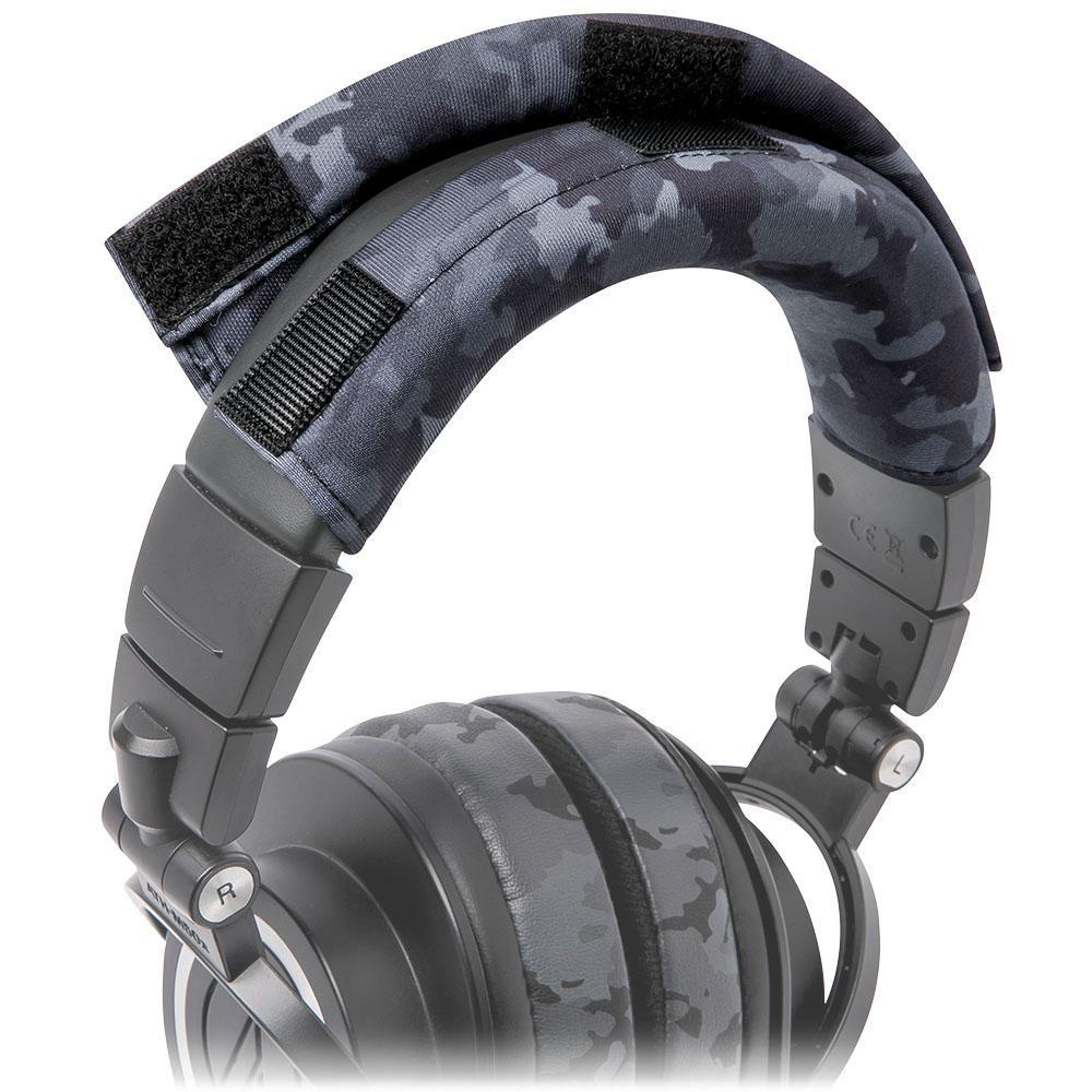 WC BandZ Protective Headband Cover For ATH M Series Headphones | Black Camo